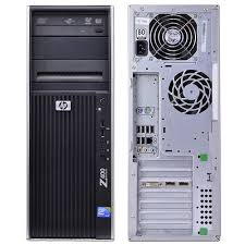 HP Z400 Work Station Intel Xeon